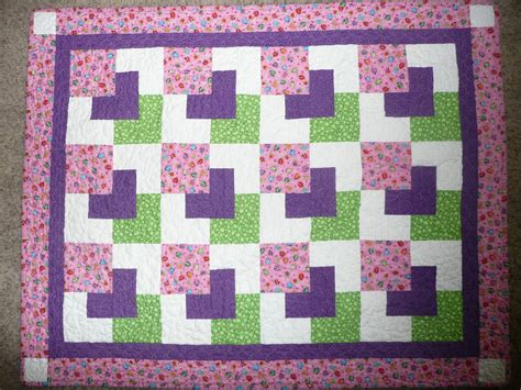 free printable easy quilt block patterns quilting grandma baby quilt completed and sent