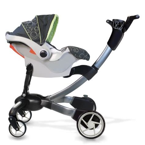 Origami Baby Stroller - 4moms origami graco snugride classic connect series car