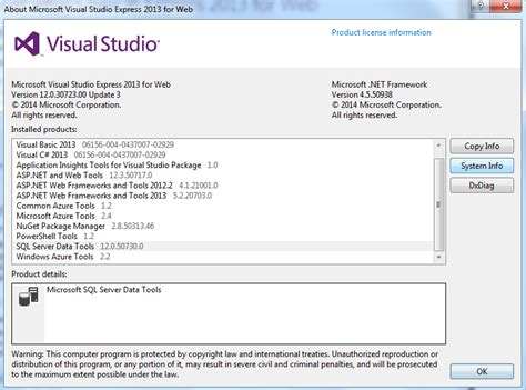 design html visual studio 2013 sql server data tools for visual studio 2013