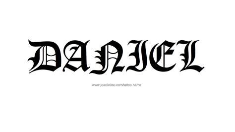 daniel tattoo daniel name designs
