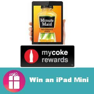 My Coke Rewards Sweepstakes Winners - sweeps my coke rewards win an ipad mini