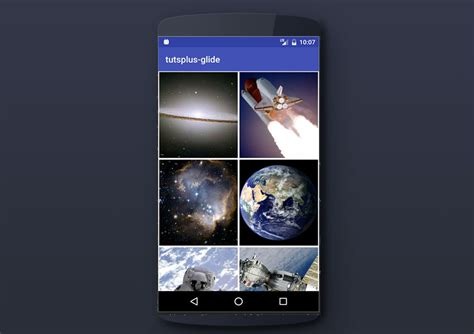 custom quot interactive wallpaper quot the android development code an image gallery android app with glide