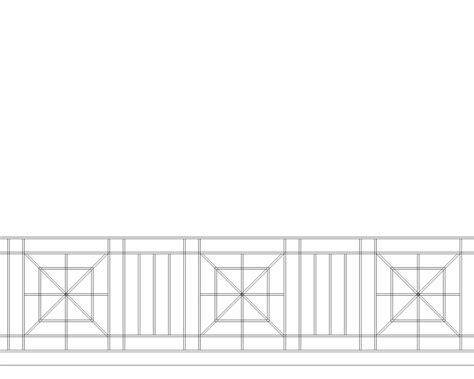 design pattern rails x pattern iron railings the iron anvil salt lake city