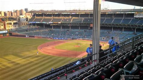 section 503 b wrigley field section 503 chicago cubs rateyourseats com