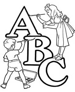Wildlife Coloring Pages Abc Nursery Rhyme  sketch template