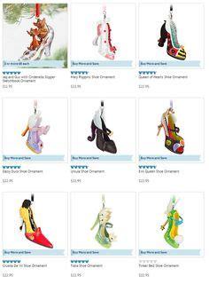 disney runway shoe ornaments gain 7 new designs disney disney runway shoes