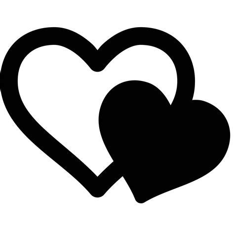 emoji love hitam ice cream logo with two hearts 12 000 vector logos