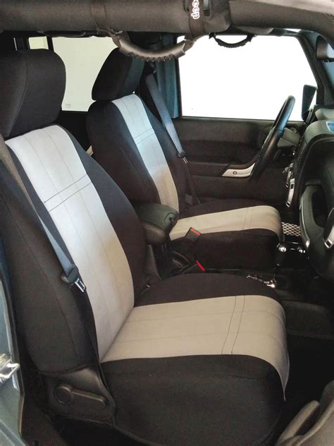 Jeep Jk Seat Covers New Caltrend Duraplus Seat Covers For Jeep Jk Wranglers