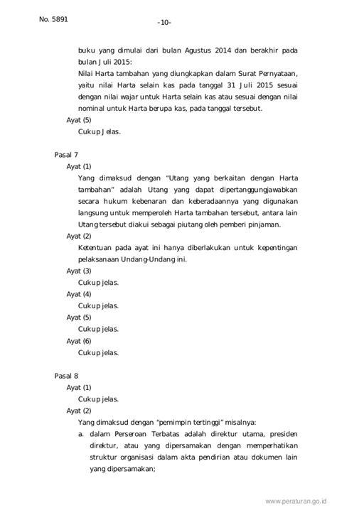Surat Kuasa Khusus Tax Amnesty by Contoh Surat Pernyataan Untuk Tax Amnesty Usb Cable Sale