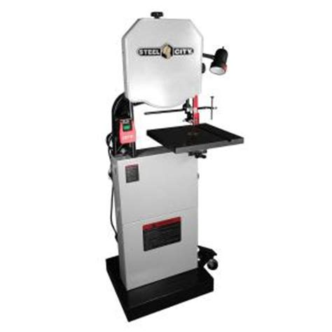 steel city 14 in hybrid band saw with granite table