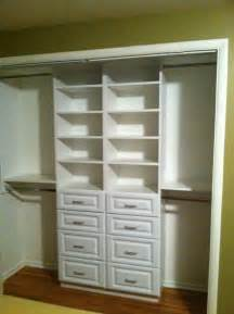 Small Drawers For Closet Compact White Small Closet Design With Drawer And Shelving