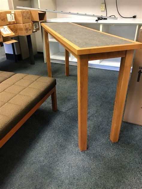 narrow counter height table counter height narrow table for auction municibid