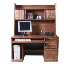 Illustra Desk With Hutch Illustra Transitional Engineered Wood Computer Desk With Hutch 56 1 2 Quot H X 43 1 2 Quot W X 21 1 2 Quot D