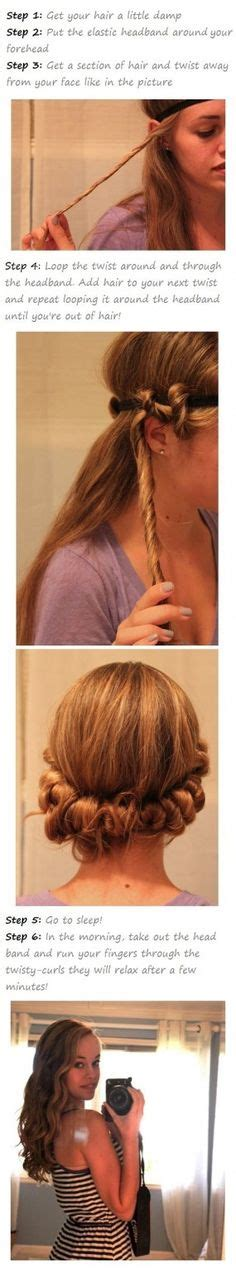 easy hairstyles no product curling fine hair on pinterest fine hair products fine