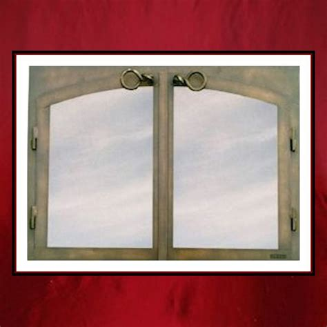 fireplace screen doors glass doors arch door fireplace screen door northshore fireplace