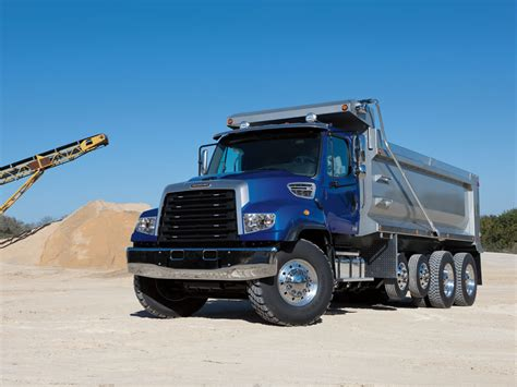 freightliner dump truck freightliner 114sd specifications freightliner trucks