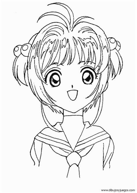 dibujos de sakura cardcaptor 002 dibujos y juegos para