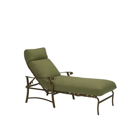 tropitone chaise lounge tropitone 721332 montreux ii cushion chaise lounge