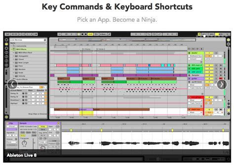 Garageband Keyboard Shortcuts Key Commands Keyboard Shortcuts For Mac
