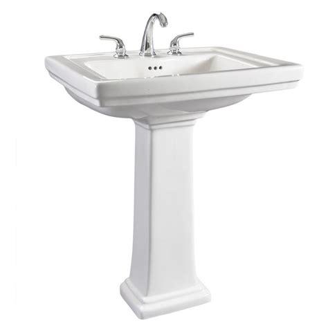 overstock bathroom sinks hathaway 6612 130 large white porcelain pedestal bathroom