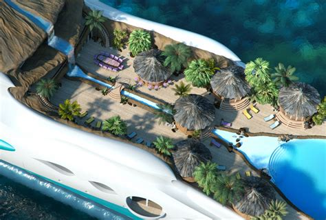yacht island design yacht island designs tropical island paradise 12 fubiz media