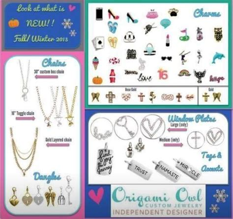 Origami Owl Catalog - new catalogs with beautiful new pieces want one let me