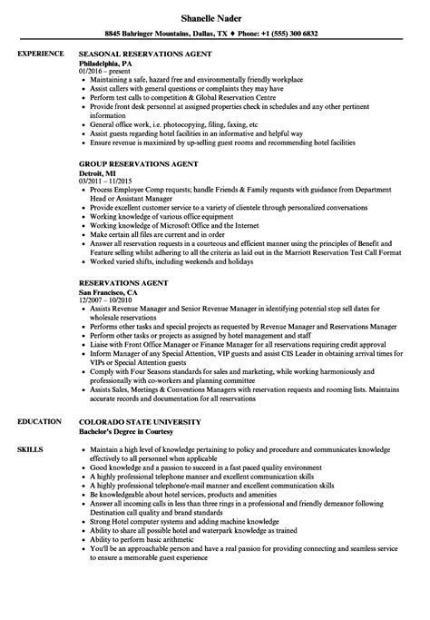 Reservation Specialist Cover Letter by Reservation Specialist Sle Resume Sle It Project Manager Resume