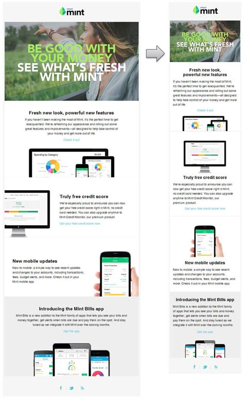layout email responsive 187 best responsive email design images on pinterest