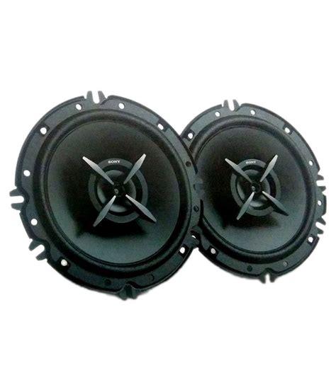 sony full range xs fbe  inches car speaker  system black  buy sony full