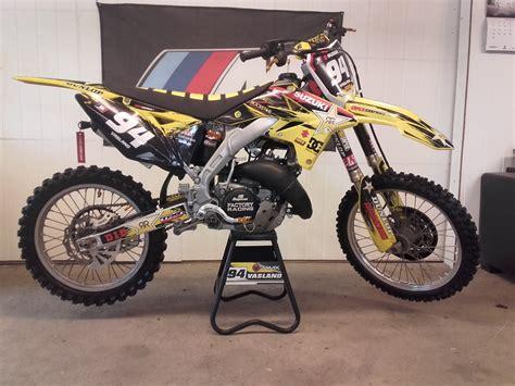 Build Your Suzuki Suzuki Rmz 125 Af 2stroke Moto Related Motocross