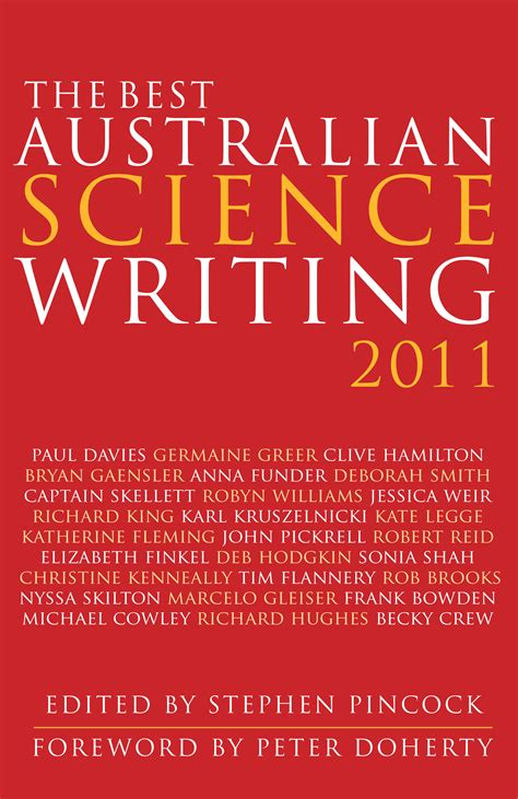 the best australian science writing 2011 newsouth books