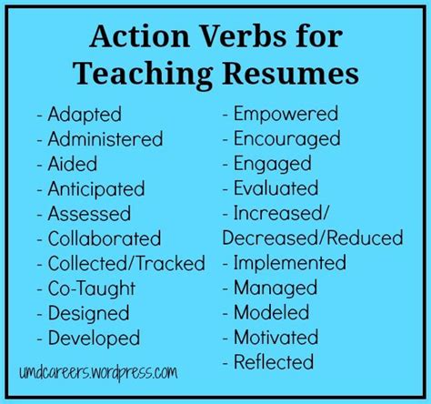 powerful resume verbs verbs for resumes resume format pdf
