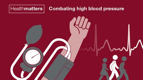 health matters health matters combating high blood pressure