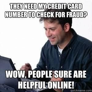 Credit Card Meme - credit card jokes kappit
