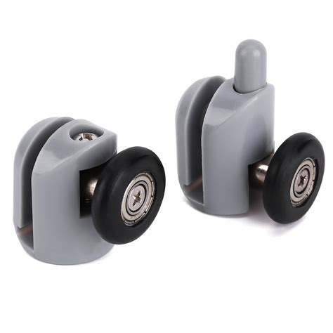 Shower Screen Door Rollers 8 X Single Shower Screen Door Wheel Rollers Runner Guides 25mm Home Ebay