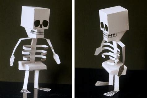 How To Make A Skeleton With Paper - papermau special skeleton paper for