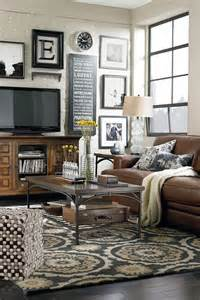 Home Decorating Ideas Living Room Walls Cozy Living Room Decorating Ideas Like How The Pictures Are Around The Tv Would To See