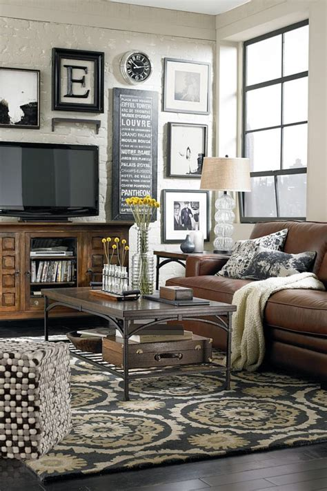 home decor for living room walls cozy living room decorating ideas like how the pictures are around the tv would to see