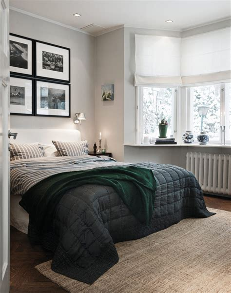 inspiration d馗o chambre chambre cocooning tons gris