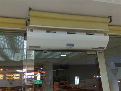 what is the purpose of an air curtain air door wikipedia