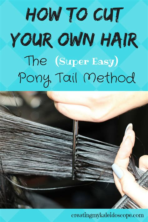 how to do layers the ponytail method on curly african american hair how to cut your own hair the ponytail method creating