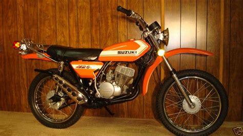 Suzuki Tf 125 1980 Suzuki Ts 125 Er Moto Zombdrive