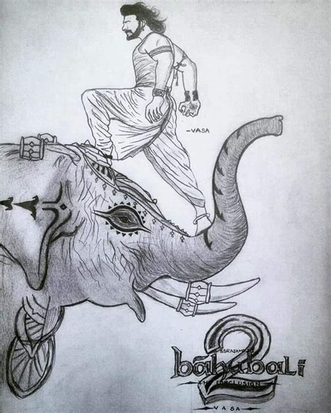 Bahubali 1 Sketches by Prabhas On Quot A Big Shout For Prabhas Fans