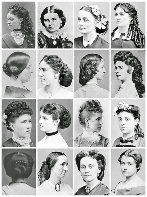 edwardian hairstyles for women gothic horror mid late victorian hairstyles 1860 s 1890 s