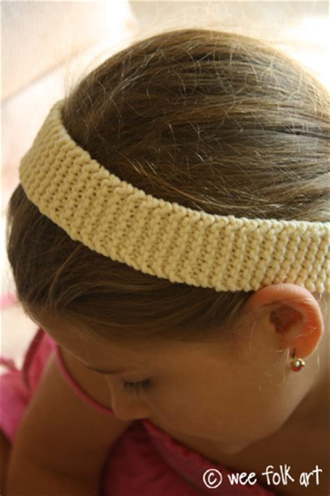 knitting pattern for simple headband newbie knitting easy headband project 187 wee folk art