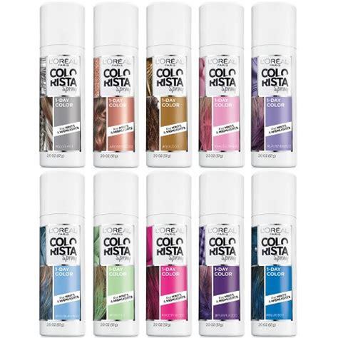 spray in hair color l or 233 al colorista 1 day hair color spray target