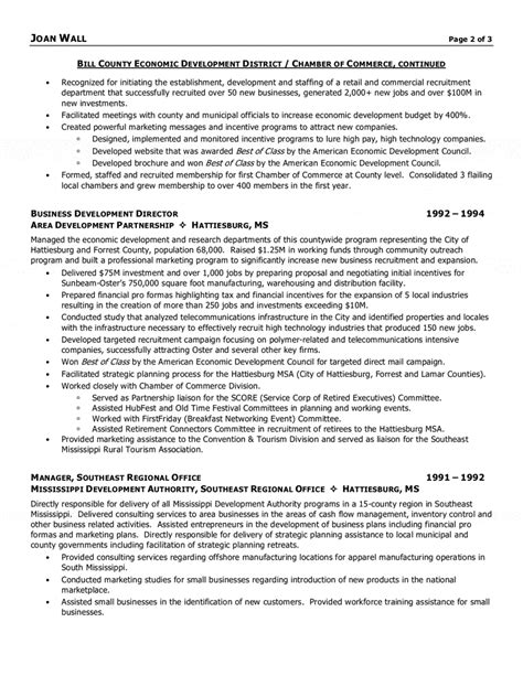 Executive Director Resume by Resumes Executive Director Non Profit Resume Format