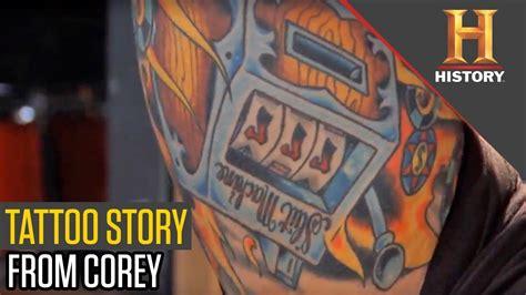 tattoo kit pawn stars corey tells his tattoo stories pawn stars youtube