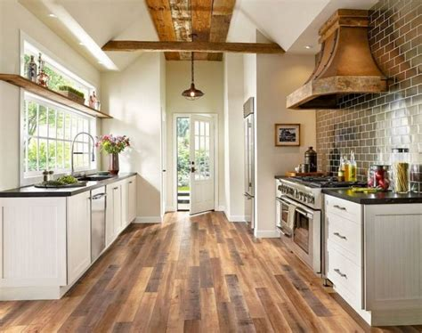 Hardwood Kitchen Floor by 20 Everyday Wood Laminate Flooring Inside Your Home