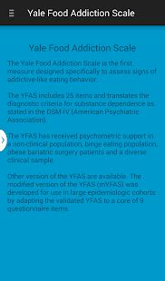 Yale New Detox by Yale Food Addiction Scale Android Apps On Play